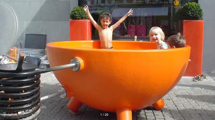 Why Not Take Your Hot Tub Camping Olympic Hot Tub