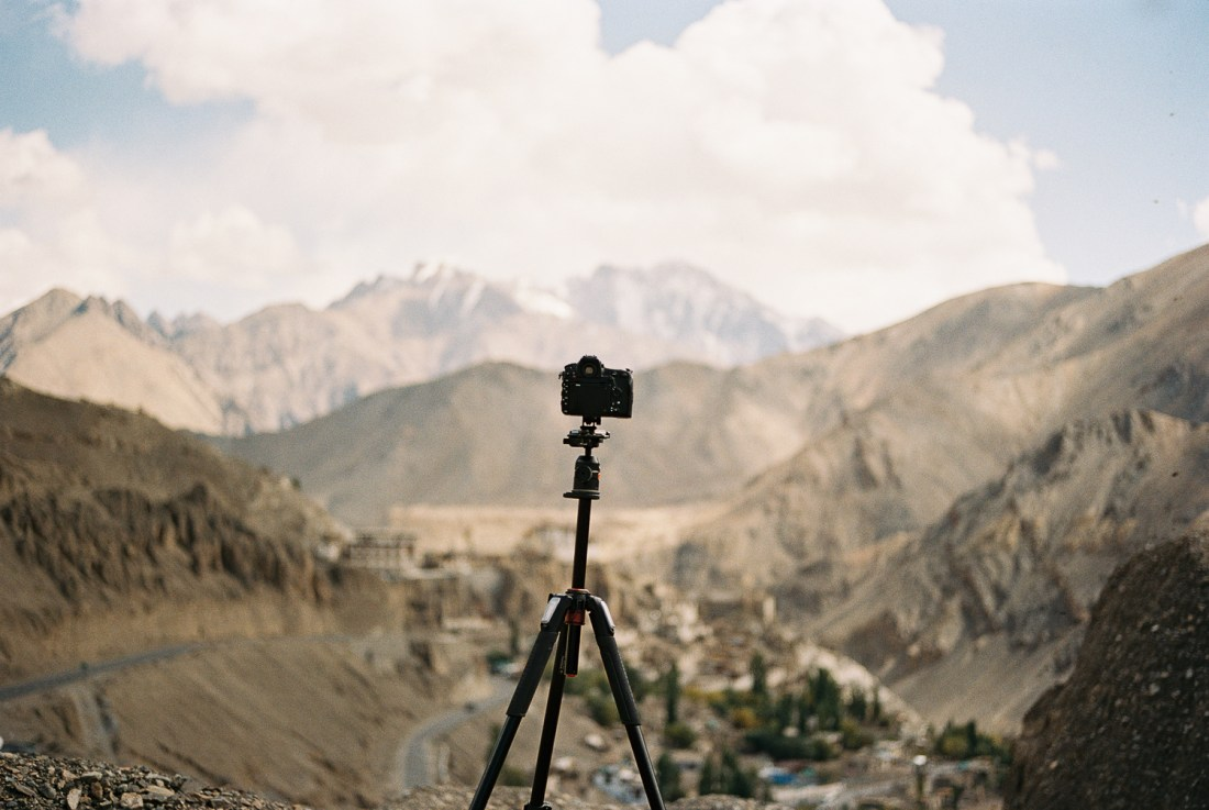 The Cameras I used on my Ladakh Adventure
