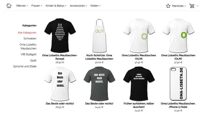 Schwaben-Shop im neuen Design