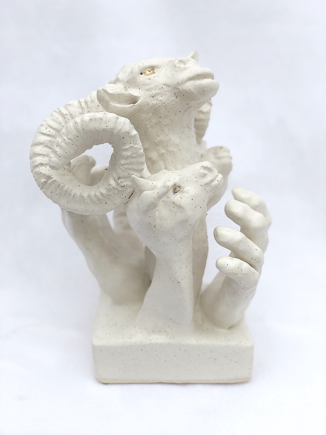Item 119 - Chanis, Three Rams and a Hand