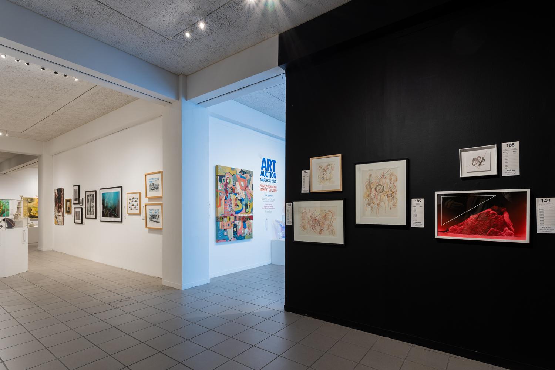Art Auction exit
