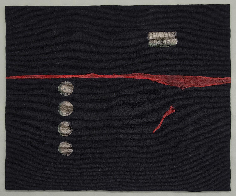 """Karen Rips, Undertow, 2013, 32"""" x 39""""."""
