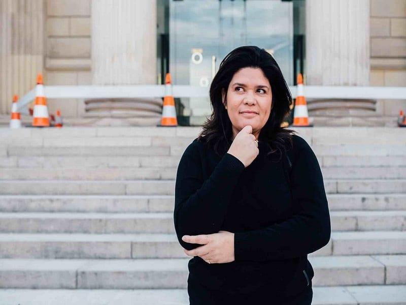 Raquel Garrido : une Insoumise dans les médias