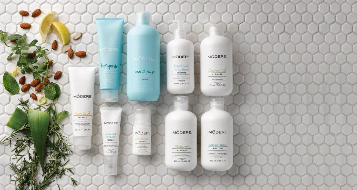 Modere, live clean - Produits