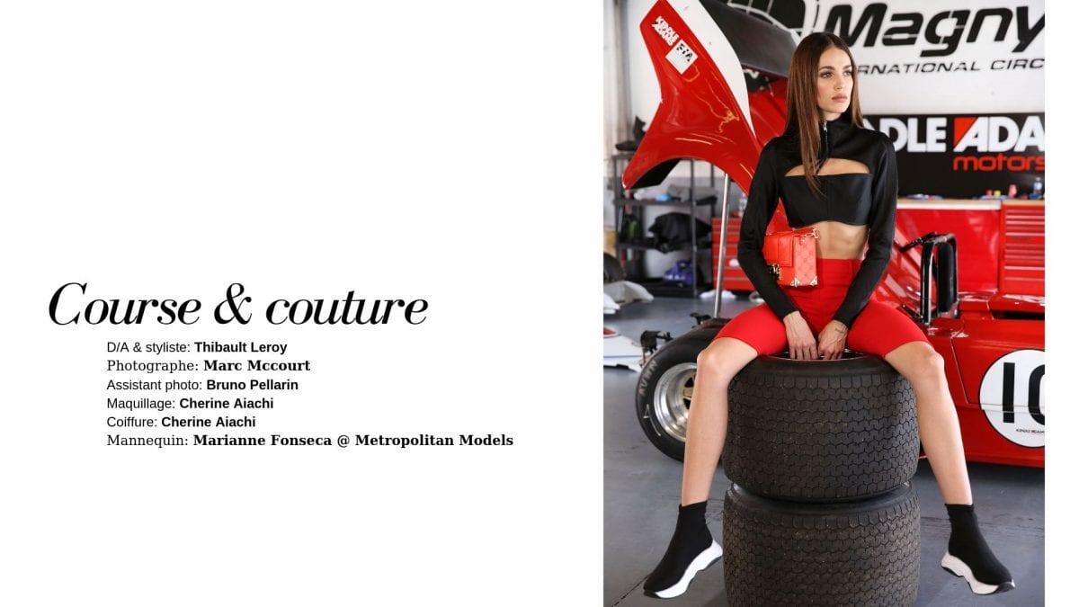 Éditorial Course & couture par Thibault Leroy