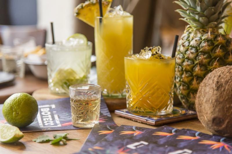 les cocktails de boteco comptoir