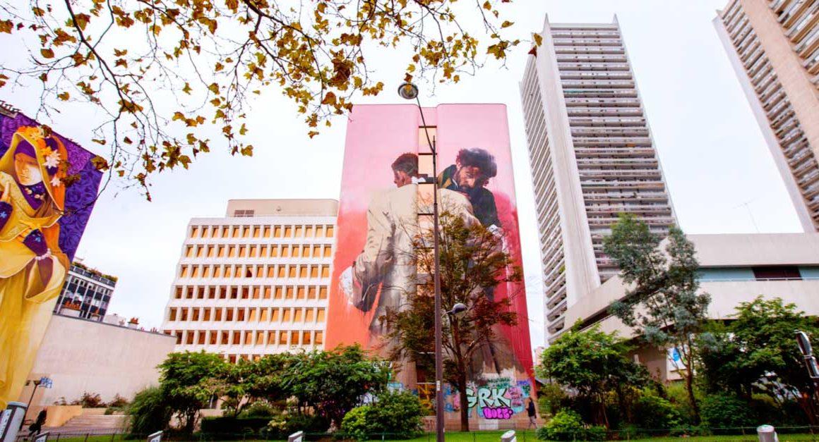Les fresques impressionnantes du Boulevard Vincent Auriol