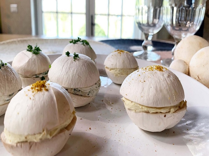 Pensez aux macarons de champignons pour agrémenter vos apéritifs !