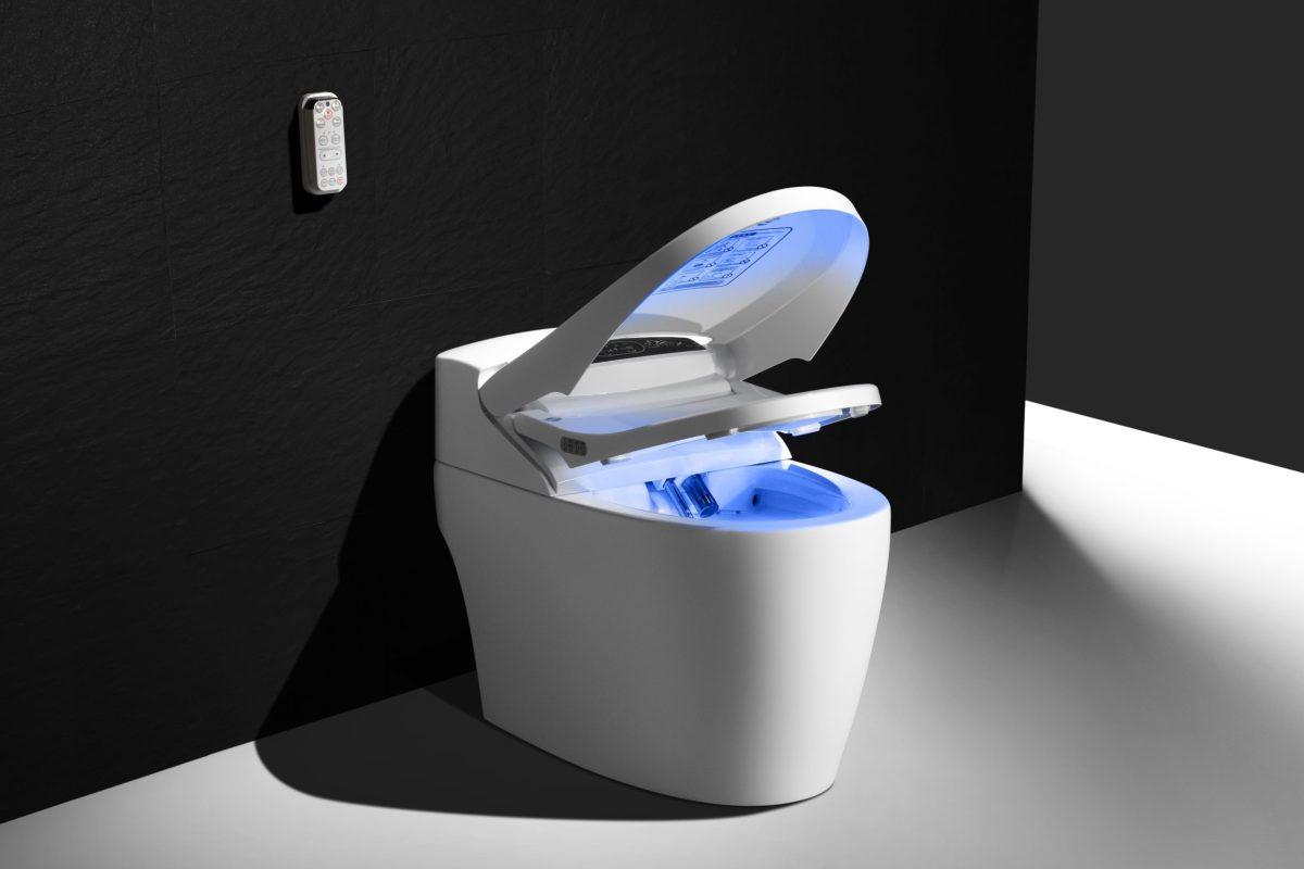 WC japonais hi-tech
