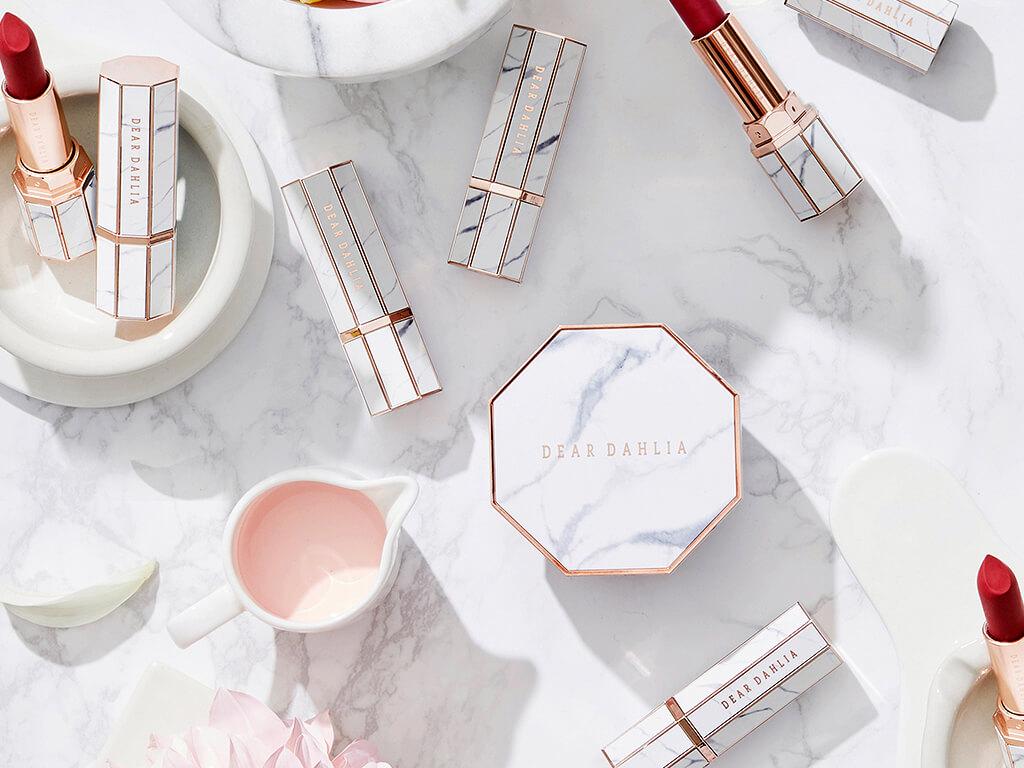 La cosmétique végane de luxe avec Dear Dahlia