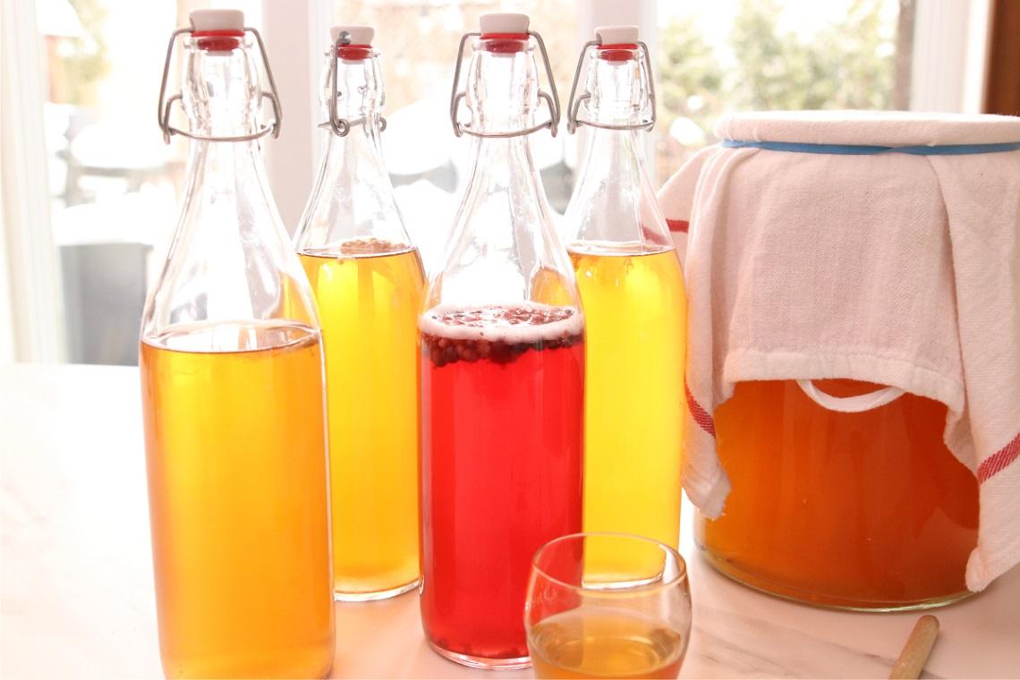 Le kombucha : une demande croissante aux saveurs multiples.