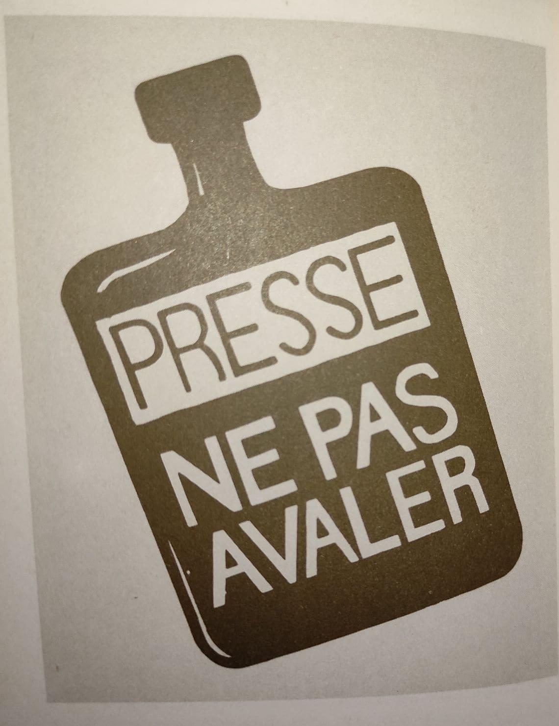Presse : ne pas avaler