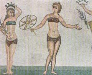 L'Antiquité et l'affirmation du corps féminin.