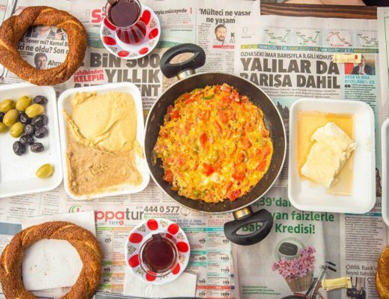 Petit déjeuner turc.