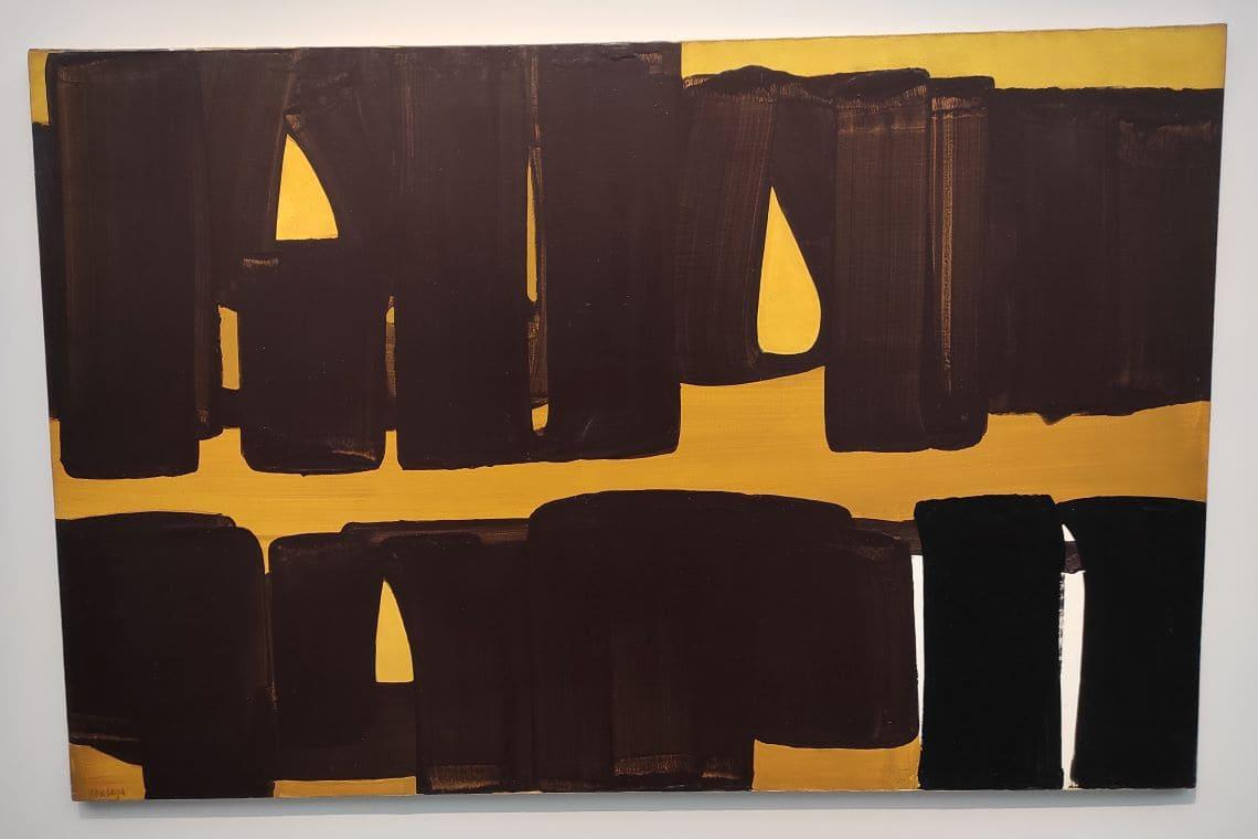 Soulages, Peinture 162 x 262 cm, 8 septembre 1971, peinture acrylo-vinylique sur toile