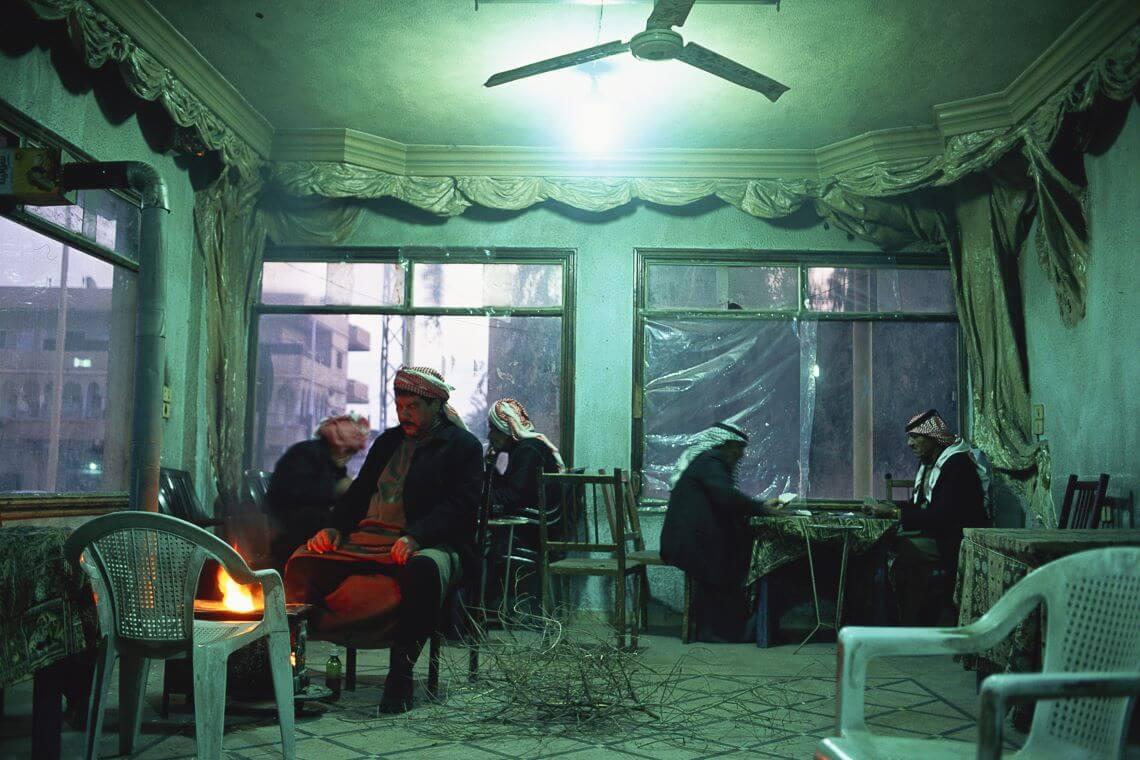 Salon de thé en Syrie