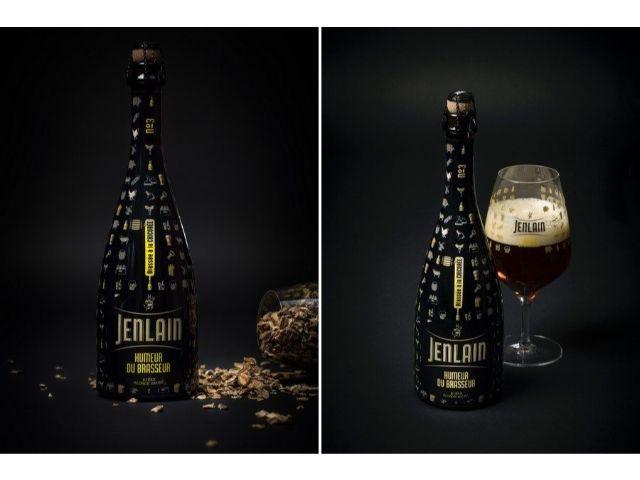 Bière humeur du brasseur de la marque Jenlain.