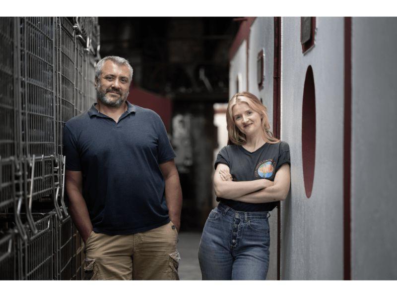 Benoît Soulès et Amélie Pichard