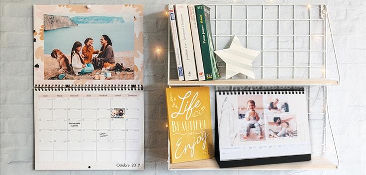 Le calendrier photo personnalisé : le présent magique