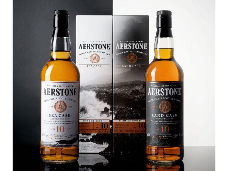 la gamme de whisky Aerstone