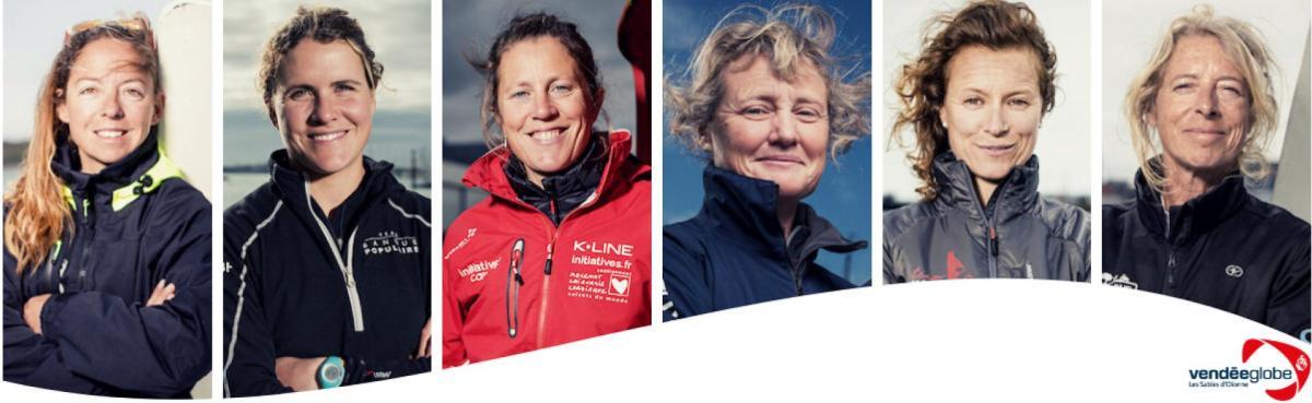 Les participantes du Vendée Globe 2020-2021