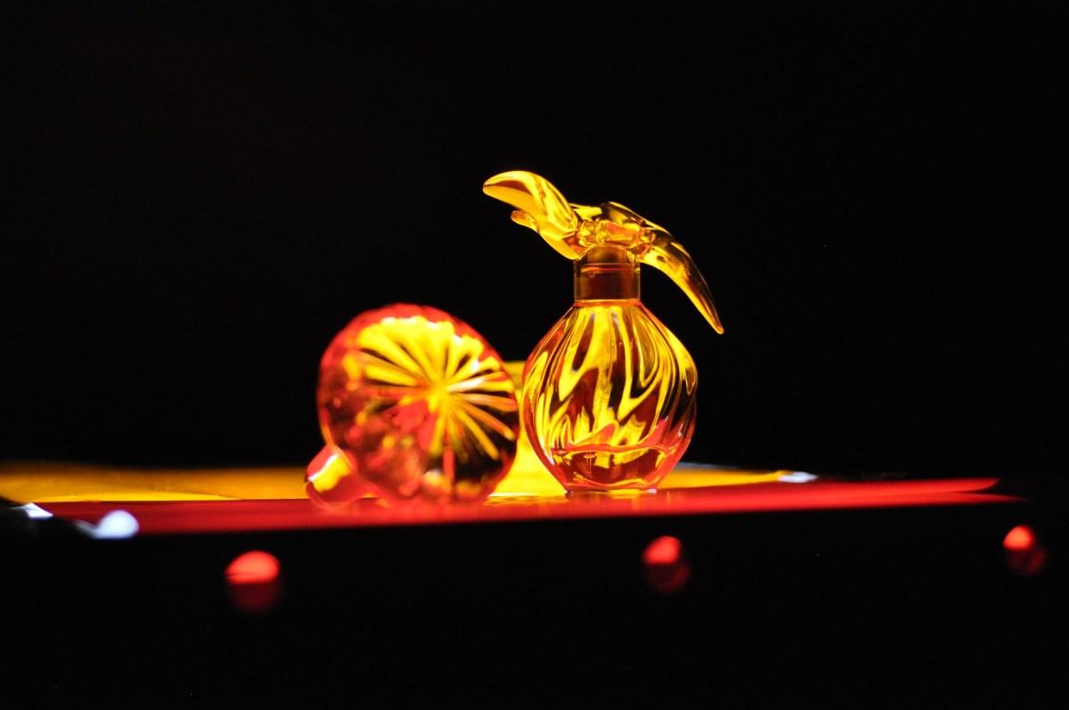 Flacon de parfum en cristal Lalique