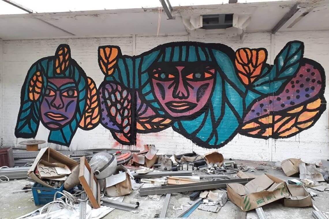Katja : une artiste urbaine entre projets personnels et commandes.