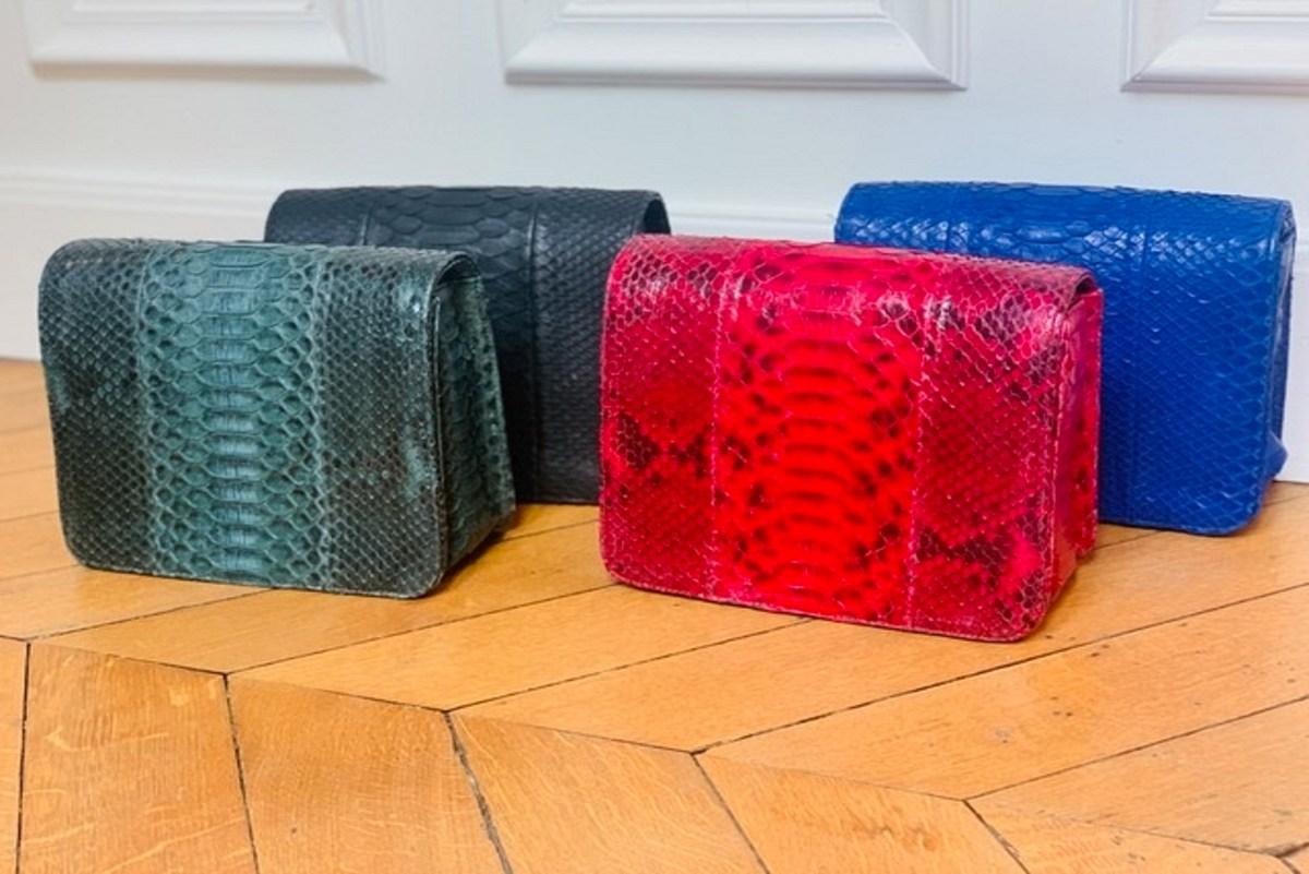 Isabelle Farrugia : la marque de sacs à main en python ultra vitaminés !