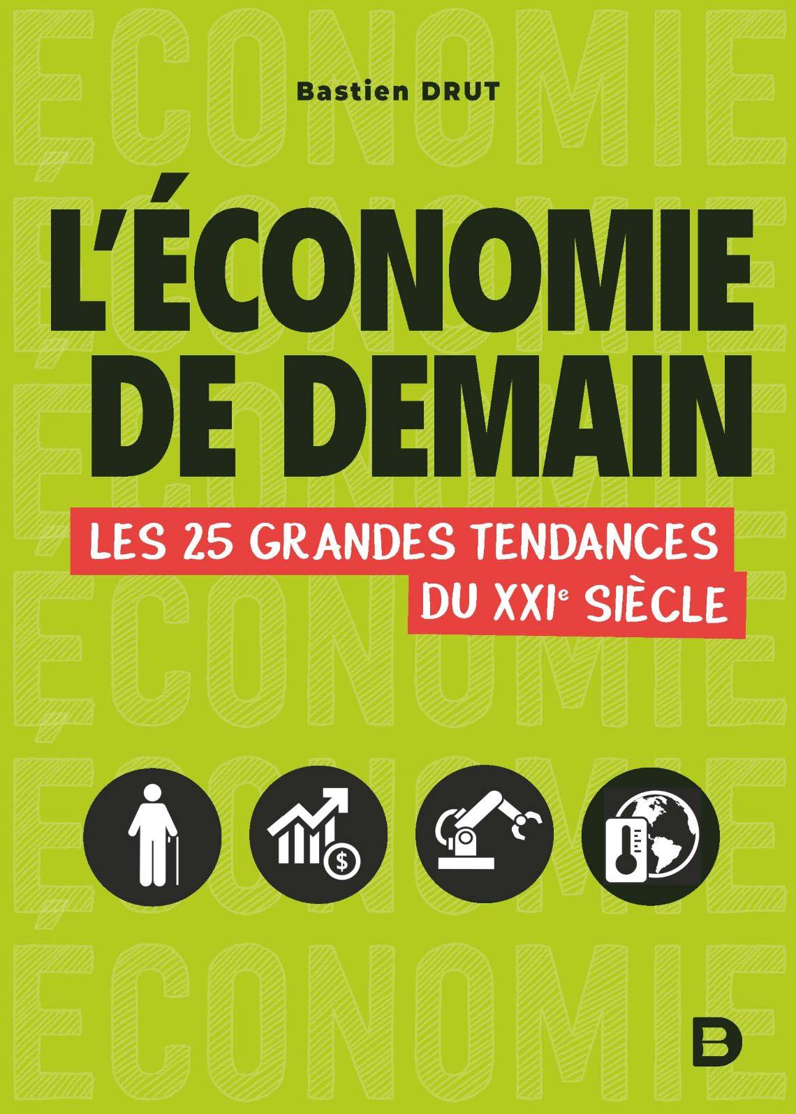 L'Économie de demain par Bastien Drut (couverture).