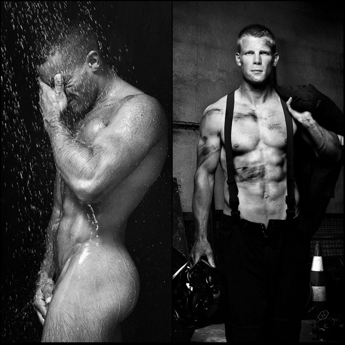 On Fire : Fred Goudon fait monter la température avec ses pompiers nus