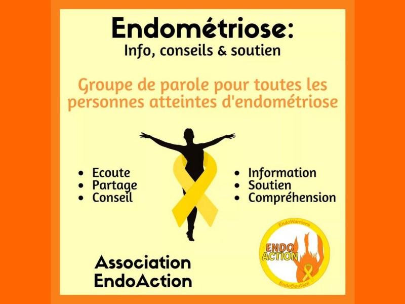Semaine européenne de prévention Endométriose - EndoAction groupe.