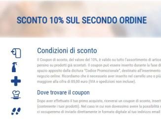 SAVE – Igiene al tuo servizio: sconto del 10% sul secondo acquisto