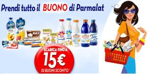 Carnet buoni sconto Parmalat