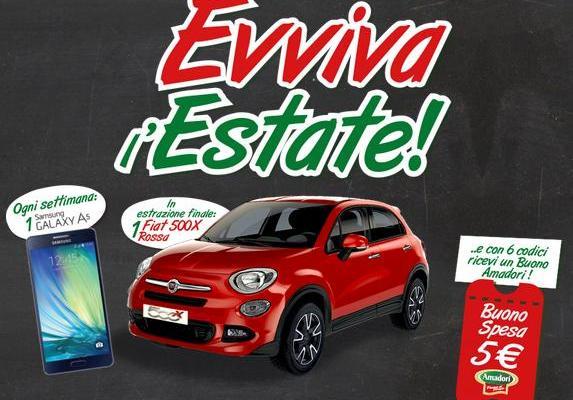 Contest e concorso Amadori: #Evvivalestate!