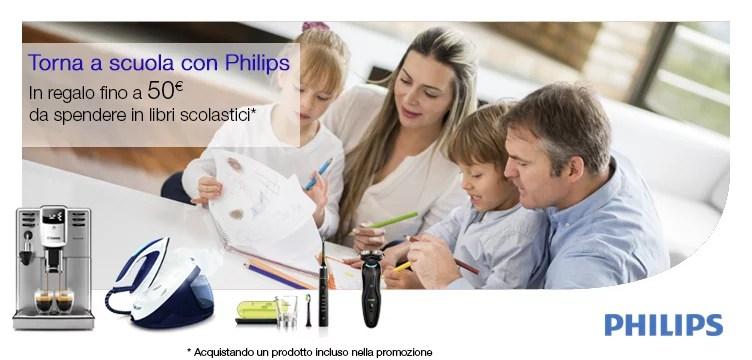 Promozione Philips: ottieni buoni spesa Amazon