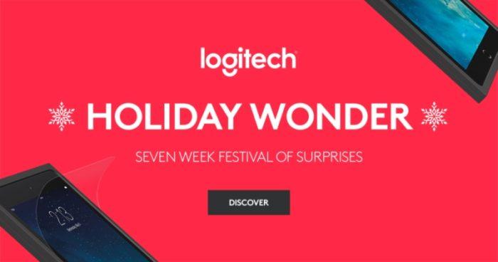 Holiday Wonder Concorso Logitech