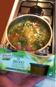 Tester Cuore di Brodo Verdure Knorr
