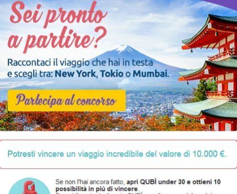 Concorso Viaggio in Testa Ubi Banca: vinci la vacanza che vuoi!