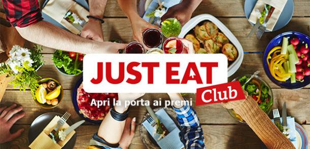 JUST EAT Club e il concorso JUST Win
