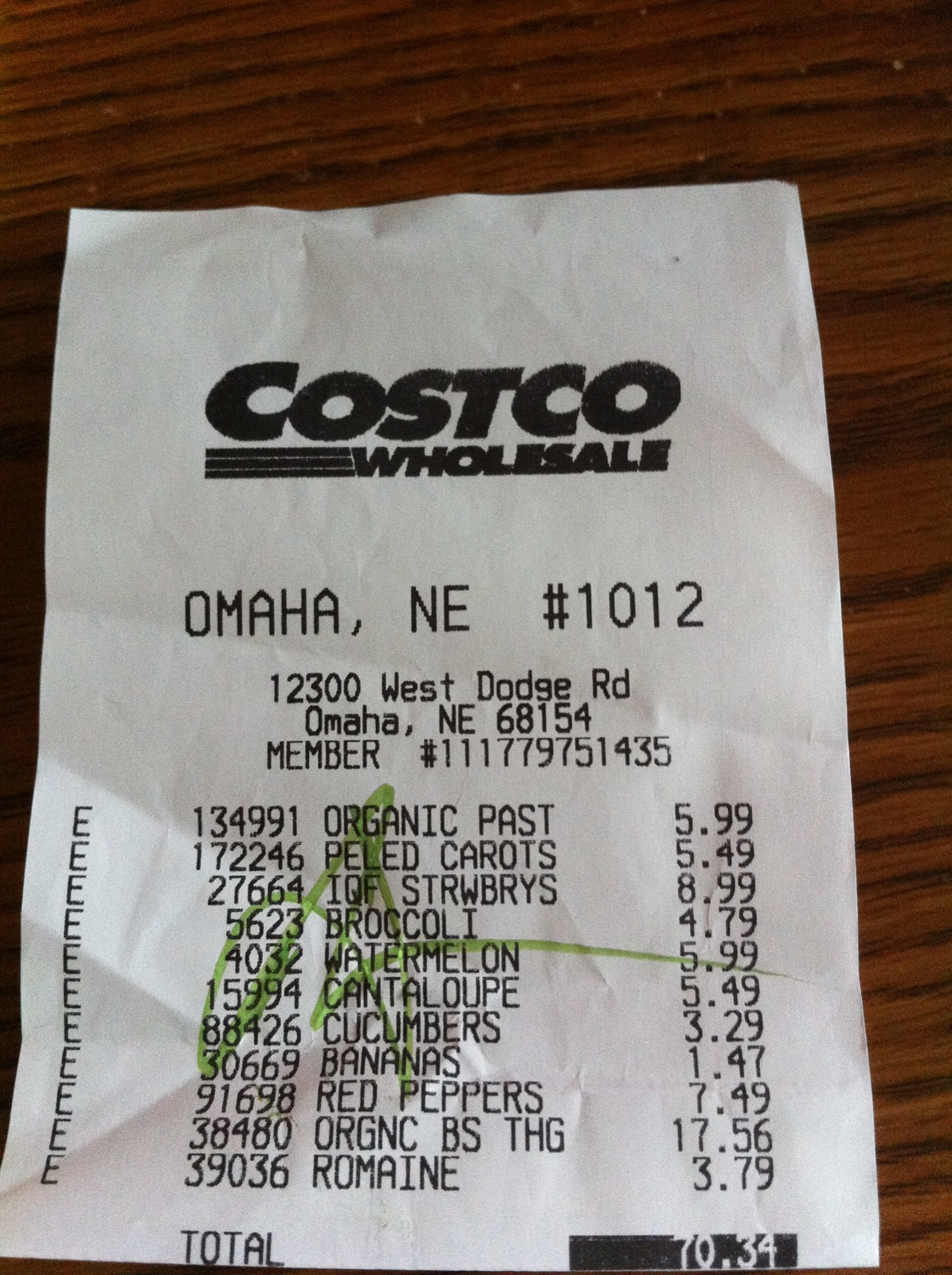 Costco sells more than just 20 gallon tubs of mayo ... on Costco Number id=33677