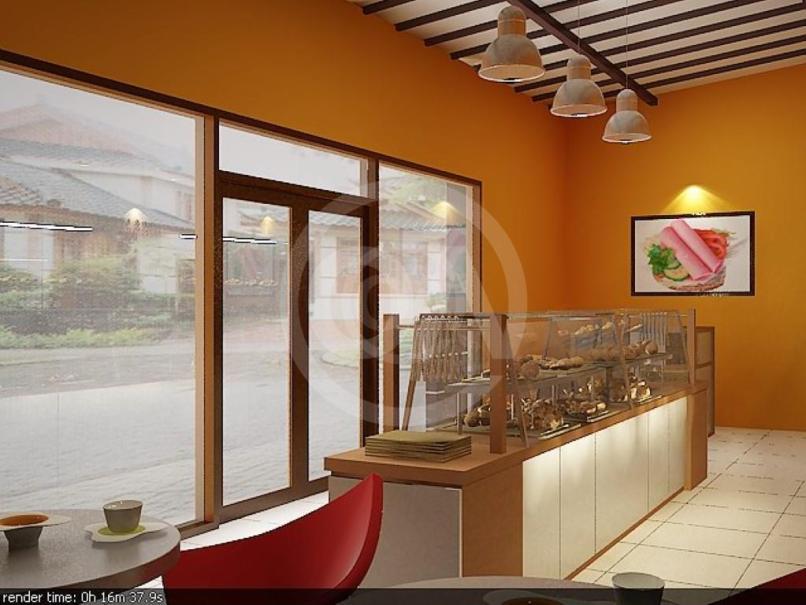 Desain Interior Toko Roti