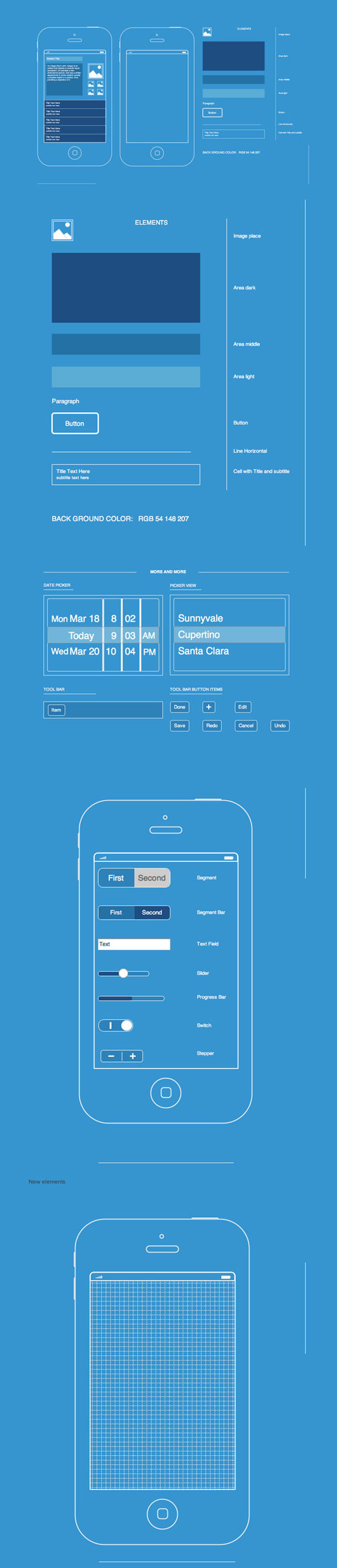 Mobile App Wireframes