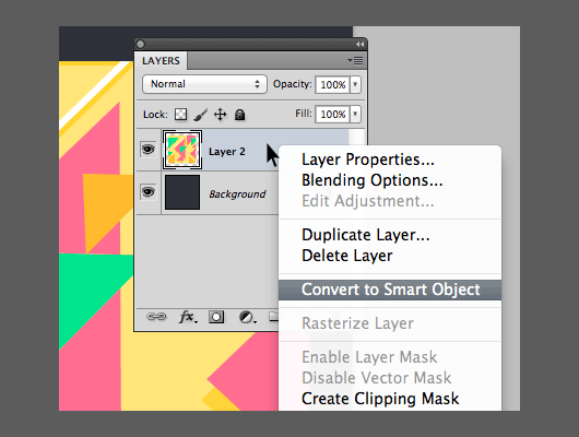 How To Photoshop Smart Object