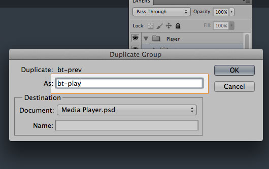 Media Player Photoshop Tutorial