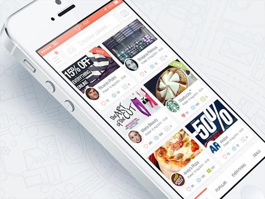 Mobile UI Designs