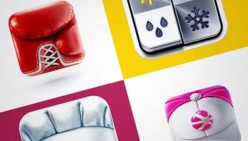 iOS App UI and Icon Designs