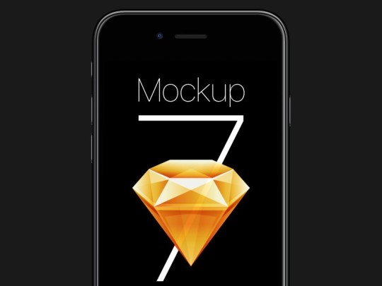 Free iPhone 7 Sketch Mockup by ΛΝØFF