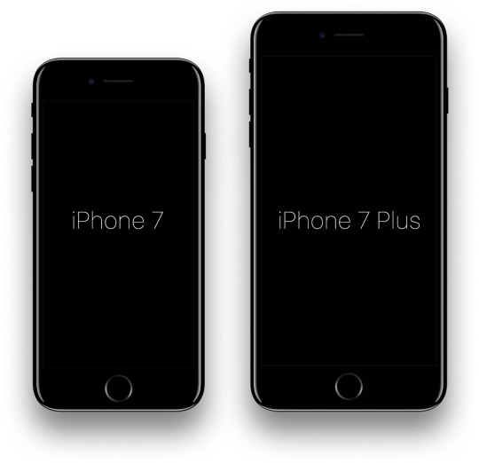 iPhone 7 Jet Black PSD Mockup (Free Download) by appers