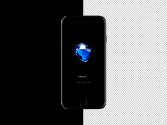 Free iPhone 7 Mockup by Wassim ✈