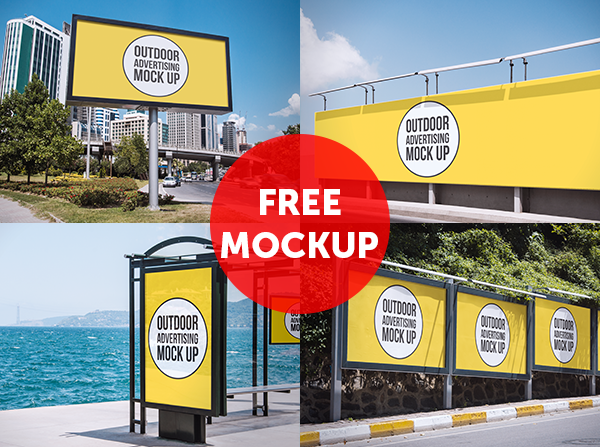 Outdoor Advertising Mockup Demo